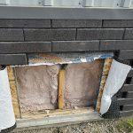 Step 6: Repair the damaged sheathing and wall structure.